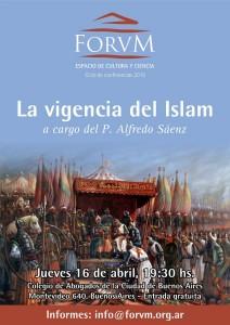 Forvm - Conferencia Abril 2015 - Vigencia Islam